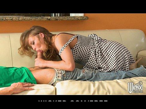 Seductive teen redhead Alyssa Branch loves intense sex