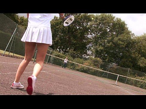 Ladies tennis upskirt