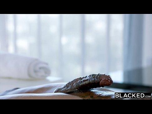 BLACKED Samantha Saint Cant Resist BBC and Rimming
