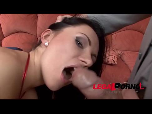 Sasha Rose double anal Perfection