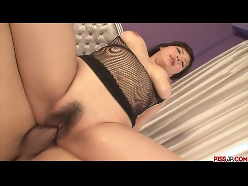 Big breasted and pretty Asian got her wet pussy finger drilled - More at Pissjp.com