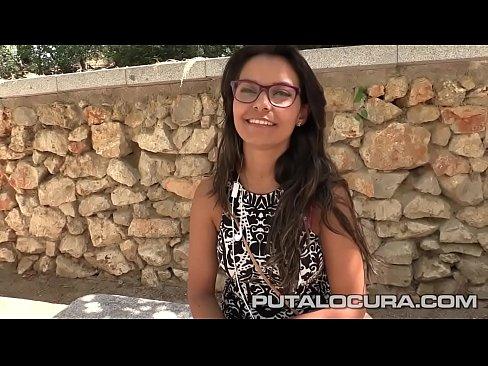 Spanish Babe Sonia Anglada Rides Like Crazy