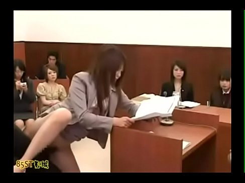 女法官要求法庭重現強姦現場,真的就強姦了(中文字幕)