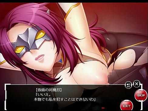 【仮面の対魔忍】甲河 朧 Scene 1