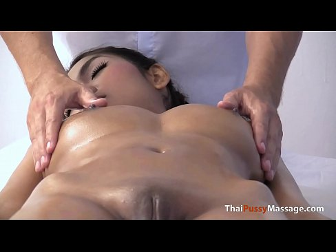 Massage some giant natural boobs and bareback creampie her afterwards