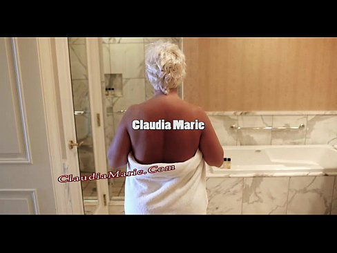 Claudia Marie Fat Ass & Giant Saggy Fake Tits