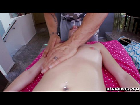 Hot Blonde Pornstar Spa Rubdown
