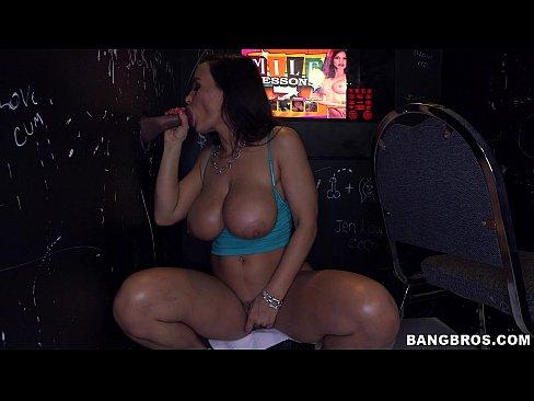 Lisa Ann at the Glory Hole