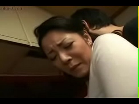Japanese Milf and Young Boy in Kitchen Fun - XNXX.COM