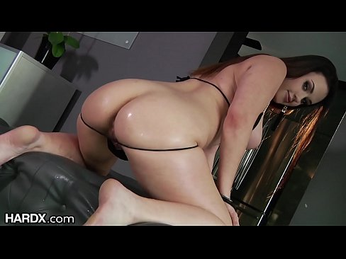 Curvaceous Roxy says FUCK MY ASS & Gets Creampie!
