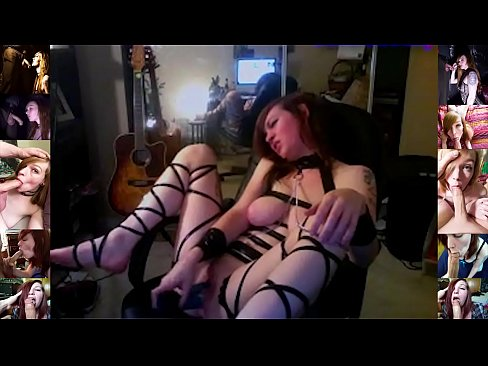 Wild Young 19YO Roxy Has Multiple Squirting Orgasms Till She Is Exausted