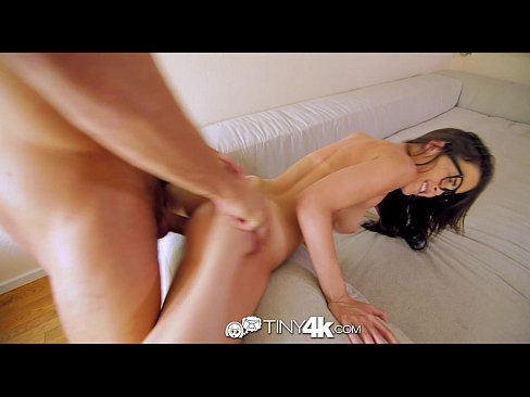 4K Tiny4K - Sexy tiny Dillion Harper loves fucking a gigantic cock