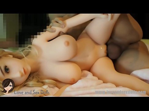 SEX DOLL COMPILATION: 3 different dolls. 2 blonds, 1 brunette. TPE, silicone, bl