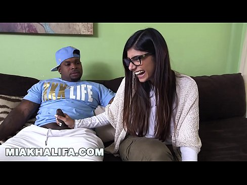 MIA KHALIFA - Busty Arab Beauty Tries A Big Black Dick And Likes It