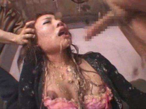 Asian Fashion Teen Force Extreme Deepthroat to Puke