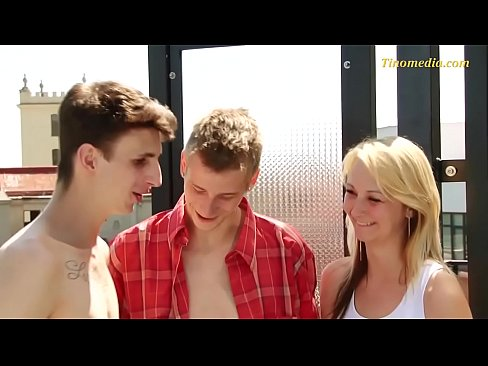 young skinny bisexual threesome teens mmf - XNXX.COM->