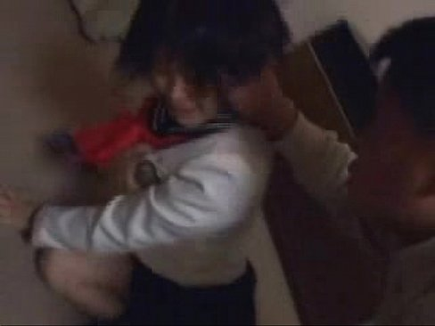 School Girl Forced by Older Man