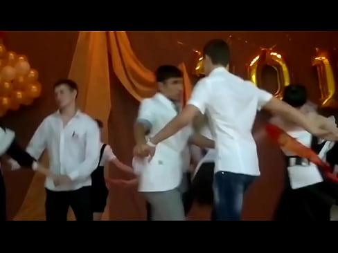 Upskirt russian school dance oops