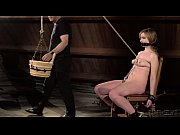 Young teen gets punished in hardcore BDSM and bondage porn where her fetish desires are fulfilled by the BDSM master and she endures the pain that she wants taking it like a slut and screaming with pleasure