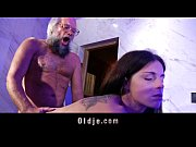 Young horny therapist hard fucking beard old man into the bathroom