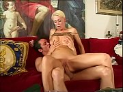Short hair blonde hard banged doggystyle