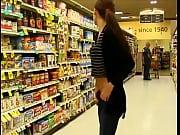 Teen girl undress in public