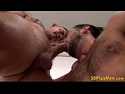 Hunk rides muscled guy