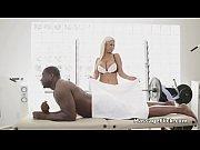 BBC star player bangs big tit reporter at massage