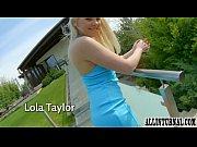 Blonde Lola Taylor in hard sex scene