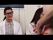 Cfnm nurses watch patient