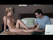 Loveherfeet Cherie Deville seduces nephew with footjob and asks to fuck her in the ass