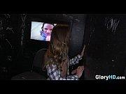 slutty girl in glory hole 03