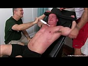 Pervy older dude and Ricky Larkin restrain and tickle JC