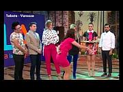 Tabata Culazo En Minivestido Rosa Vanessa VLA 07mar18