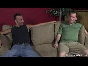 Two cute gay dudes have fun sucking cock gay video