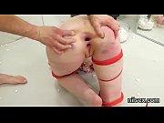 Kinky cutie is taken in butt hole asylum for uninhibited treatment