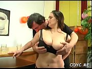 Skinny babe gives head and rides