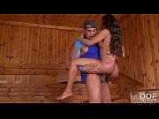 sauna guest jasmine webb opts for fucking a.