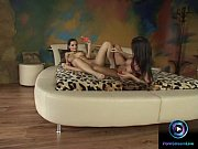 Fresh preview of Maria Belucci and Eve Angel dildoing their goodies