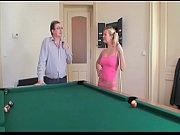 blondie has a hard fuck on the billiard.