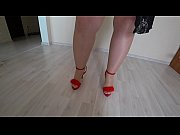 thumb Busty Milf I n Stockings Doggystyle Masturbates With A Rubber Dick And Shakes A Big Butt In Panties