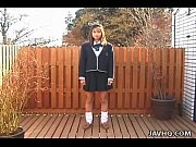 Japanese teen sucks and swallows teacher cock uncensored