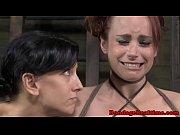 bondage slave bella rossi clit teased