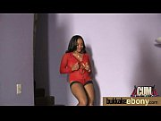 Naughty black wife gang banged by white friends 23