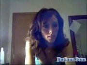 Horny wife masturbate to stranger on webcam