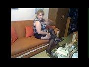 Chaleco azul marino blanco Medias Negras pantyless