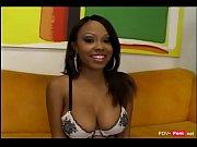 Hot ebony slut sucking on big cock and enjoys getting fucked hard - Pov-porn.net