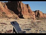 Lance Alexander on the beach
