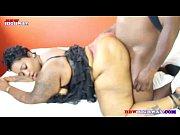 Ebony Big Butt getting big black Cock