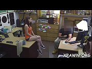 A sexy amateur makes her way to the shop to have sex